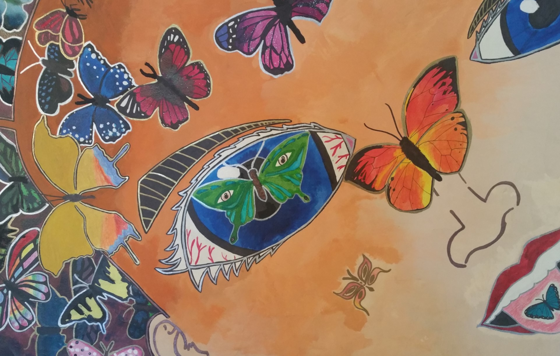 Watercolor art galleries in houston - Each Month The Houston Museum Of Natural Science At Sugar Land Works With A Different Local School To Showcase The Talent Of Our Local Kids