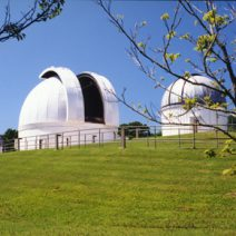 The George Observatory during the day.
