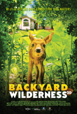 Movie Poster for Backyard Wilderness giant screen film now showing at the Houston Museum of Natural Science